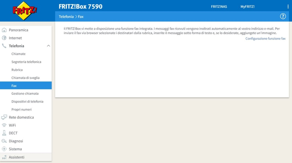 7490 in cascata con Vodafone Station Revolution Fax10