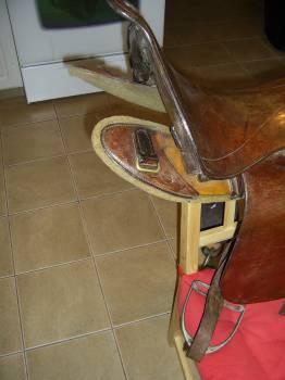 LATEST GARAGE SALE FIND - 1912 UPS SADDLE Saddle12