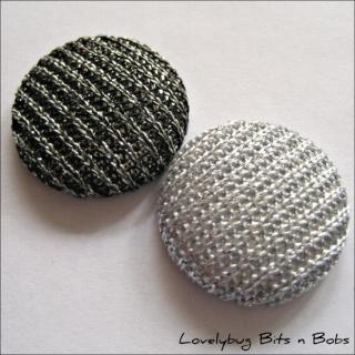 Lovelybug Bits n Bobs FABRIC BUTTONS! Glitz10