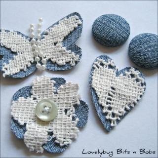Lovelybug Bits n Bobs EMBELLISHMENT KITS! Shabby12