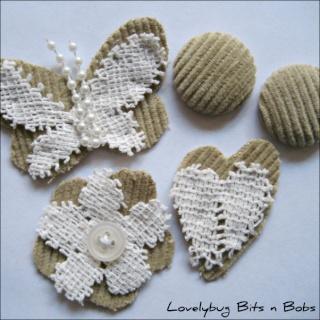Lovelybug Bits n Bobs EMBELLISHMENT KITS! Shabby13