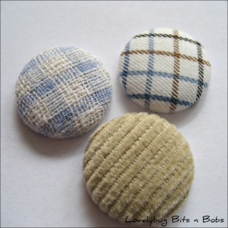 Lovelybug Bits n Bobs FABRIC BUTTONS! Textur10