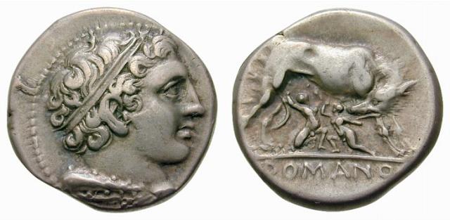 Informations pour étude de coins didrachme romano-campanien 29256910