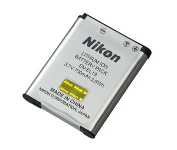 Nikon Coolpix S4100 battery EN-EL19 En-el110