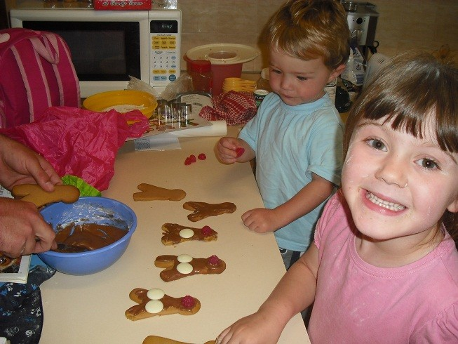 Reindeer Cookies Ginger10