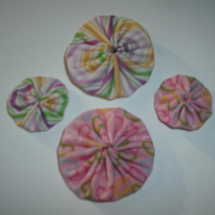 Burdy's Yoyo flowers/kits!! Pack_126