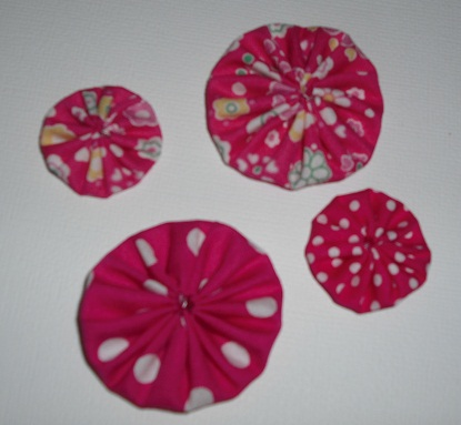 Burdy's Yoyo flowers/kits!! Pack_132