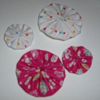 Burdy's Yoyo flowers/kits!! Pack_134