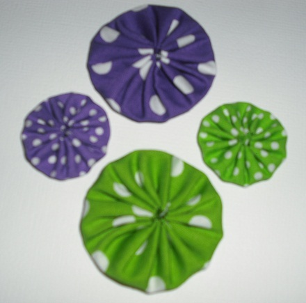 Burdy's Yoyo flowers/kits!! Pack_214