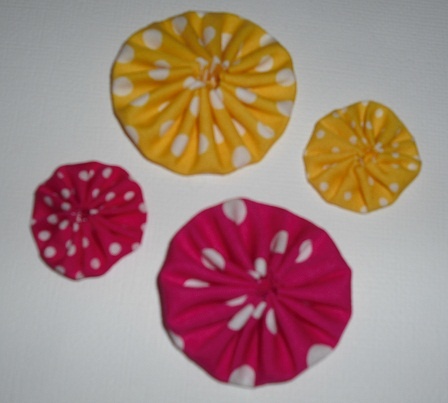 Burdy's Yoyo flowers/kits!! Pack_312