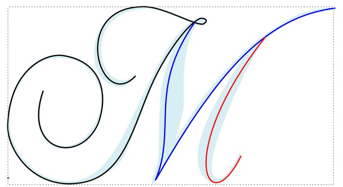 ECRITURE PLEINE AVEC STYLO (porte stylo) M10