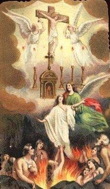 Padre Pio thaum ua neej nyob Purgat10