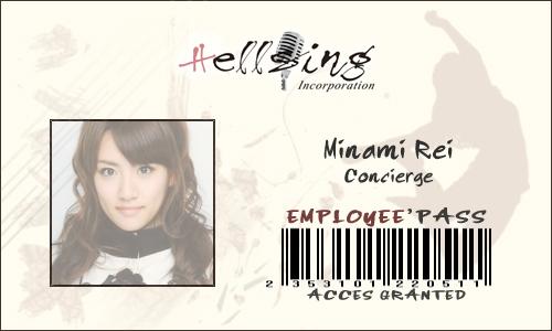 Regarde une feuille de personnage Minami11
