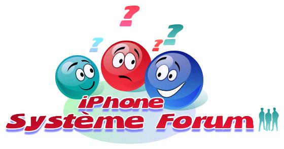 iPhoneSystème forum