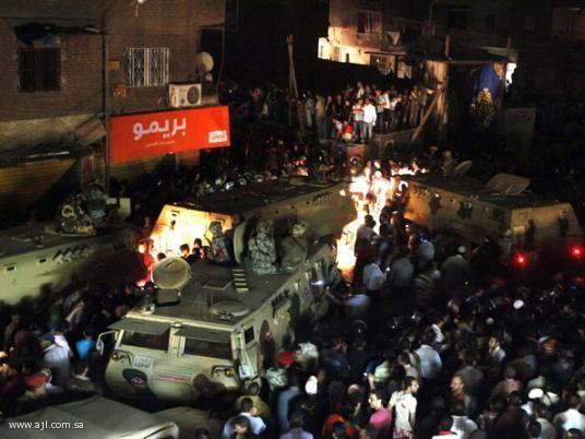 12 قتيل و232 مصاباً في إشتباكات طائفية في مصر بسبب إسلام فتاة  2268910