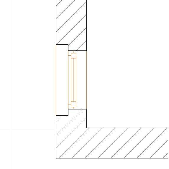 ¿Cómo se dibuja una ventana de esquina?. V110