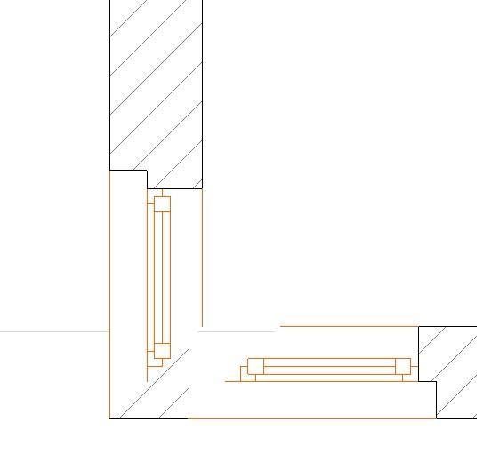 ¿Cómo se dibuja una ventana de esquina?. V410