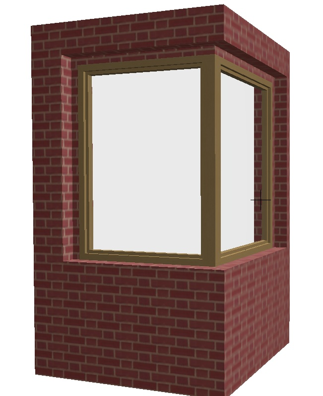 ¿Cómo se dibuja una ventana de esquina?. V510