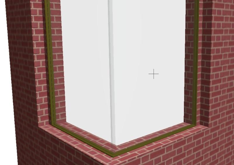¿Cómo se dibuja una ventana de esquina?. V610
