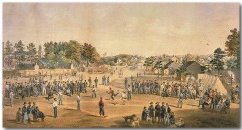 Le jeu de balle de la guerre civile américaine (guerre de sécession) Civil_11