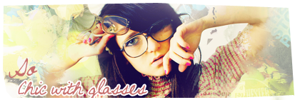 So chic with glasses So_chi10