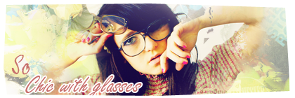 So chic with glasses So_chi13