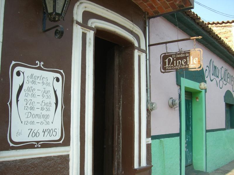 EL JARDIN de NINETTE Restaurant Review Cimg7321