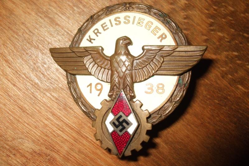 """""""Kreisseiger Abzeichen im Reichsberufswettkampf"""" (1934/1945) Photo144"""