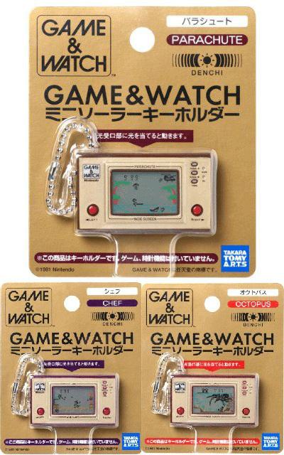 Les Game & Watch de Takara Tomy Arts Takara10