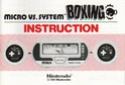 Les differentes notices de Game & Watch Bx-30110