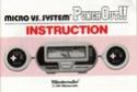 Les differentes notices de Game & Watch Bx-30112
