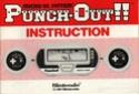 Les differentes notices de Game & Watch Bx-30113