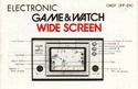 Les differentes notices de Game & Watch Chef_f10