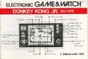 Les differentes notices de Game & Watch Dk-jr_10