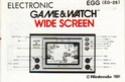 Les differentes notices de Game & Watch Egg_eg10