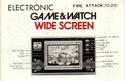 Les differentes notices de Game & Watch Fire_a10