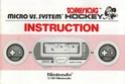 Les differentes notices de Game & Watch Hk-30310