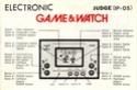 Les differentes notices de Game & Watch Judge_10