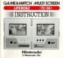 Les differentes notices de Game & Watch Lifebo10