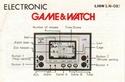 Les differentes notices de Game & Watch Lion_l10