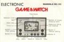 Les differentes notices de Game & Watch Manhol11