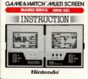 Les differentes notices de Game & Watch Mario_10