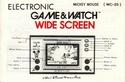 Les differentes notices de Game & Watch Mc-25_12