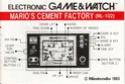 Les differentes notices de Game & Watch Mcf_ml10