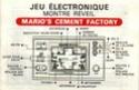 Les differentes notices de Game & Watch Ml-10210
