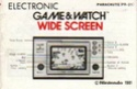 Les differentes notices de Game & Watch Parach11