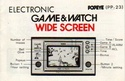 Les differentes notices de Game & Watch Popeye10