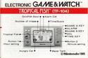 Les differentes notices de Game & Watch Tropic10