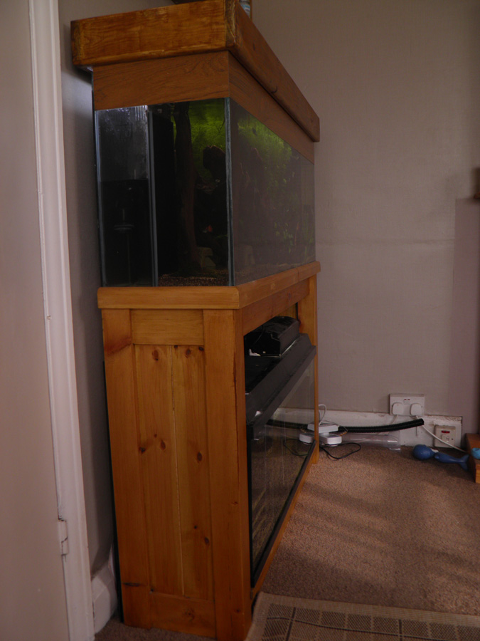 Large fish tank plus sump with RO and loads of stuff fishtank aquarium P6220011
