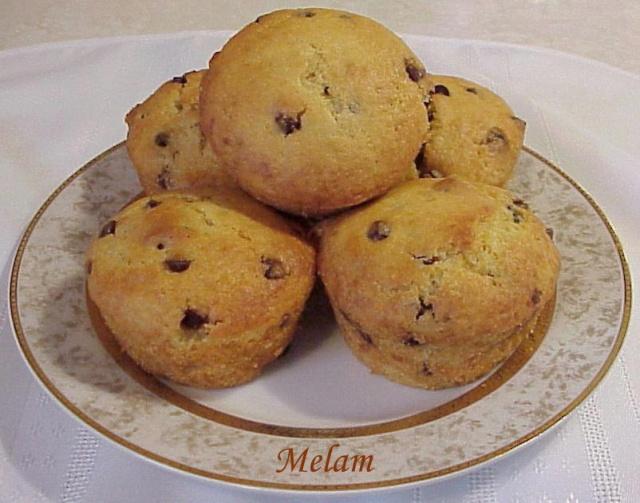 Muffins à la citrouille et au chocolat de Coup de pouce Muffin10